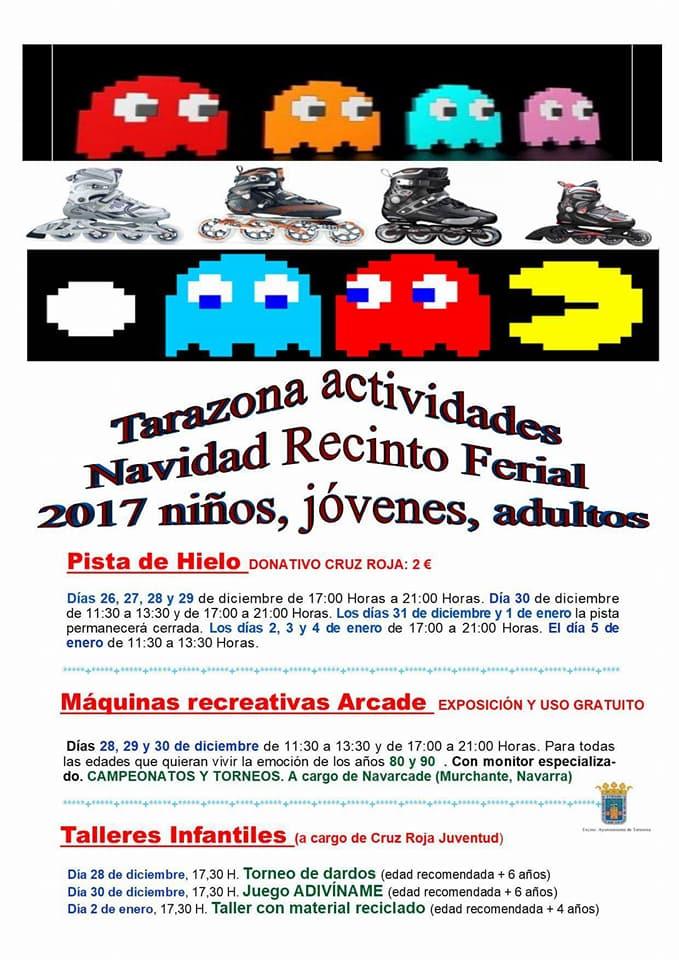 actividades tarazona navidad 2017